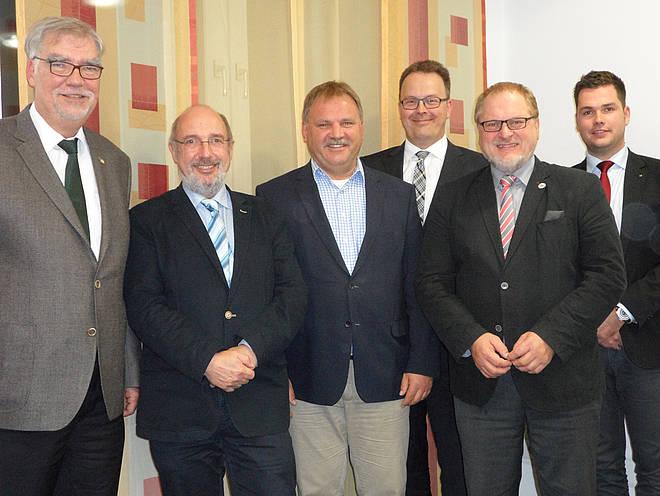 Der SPES VIVA-Vorstand nach der Mitgliederversammlung vom Oktober 2016