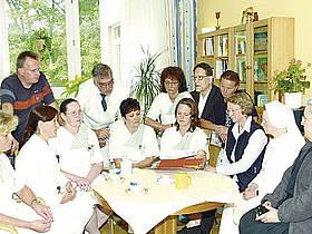 Interdisziplinäre Teamarbeit des SPES VIVA