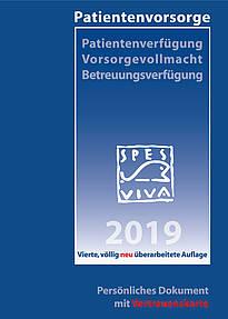 Zum Bestellen: Die SPES VIVA Patientenverfügung