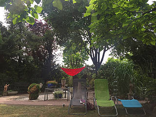 Blick in den Rondo-Garten