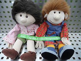 Handspielpuppen Finn und Lisa